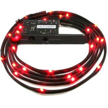 Led лента NZXT Sleeved LED Kit 2m Red, 2.0 m image