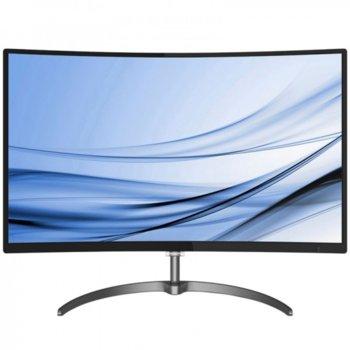 """Монитор Philips 328E8QJAB5, 31.5"""" (80.01 cm) VA панел, Full HD, 5ms, 20 000 000:1, 250 cd/m², DisplayPort, HDMI, VGA image"""