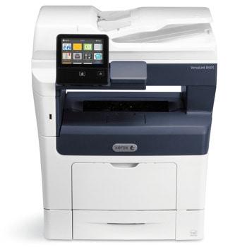 Мултифункционално лазерно устройство Xerox VersaLink B405, монохромен, принтер/копир/скенер/факс/e-mail, 1200 x 1200 dpi, 45 стр/мин, Lan1000, Wi-Fi 802.11n, USB 3.0, A4 image