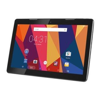 "Таблет HANNspree Hannspad 133 Titan 2 (SN14TP1B)(черен), 13.3"" (33.78 cm) IPS дисплей, осемядрен ARM Cortex A53 1.5GHz, 2GB RAM, 16GB Flash памет (+ microSD слот), 5.0 & 2.0 Mpix камера, Android, 1060g image"