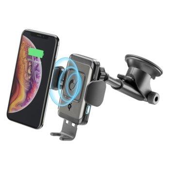 Безжично зарядно устройство Pilot Instant Wireless, 10W, за кола, черно image