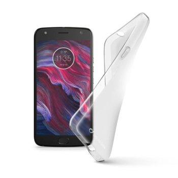 Калъф за Motorola Moto X4, гумен, Cellular Line Shape, прозрачен image