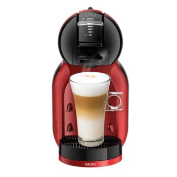 Ръчна еспресо машина Krups Nescafe Dolce Gusto MINI ME , черно-червена, 1500 W, 15 bar image