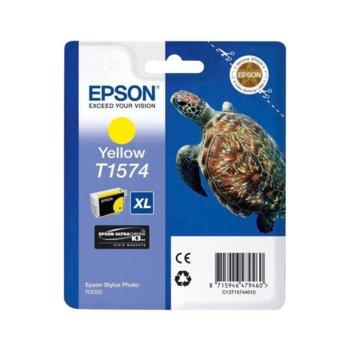 ГЛАВА ЗА EPSON STYLUS PHOTO R3000 - Yellow - P№ C13T15744010 - заб.: 25.9ml. image