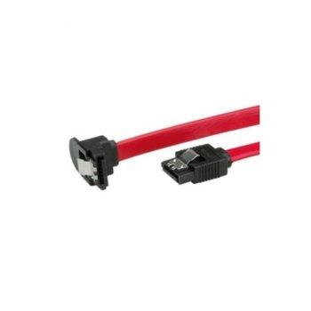 Кабел Roline 11.99.1561, SATA2 към SATA2, 3.0 Gbit/s, ъглов, 1m, червен image