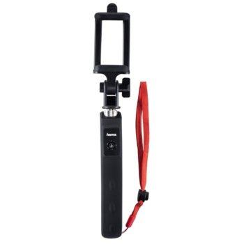 Монопод Hama Fun 70 04315, вграден Bluetooth, мин/макс. височина 20.5-70 cm, за смартфони с ширина от 5.5 - 8.5 см, скоба за бърз монтаж, черен image