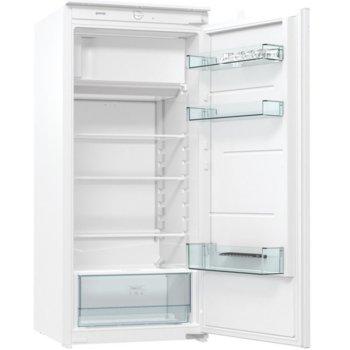 Хладилник Gorenje RBI4122E1, клас F, 186 л. общ обем, за вграждане, CrispZone, EcoMode режим на пестене на енергия, бял image