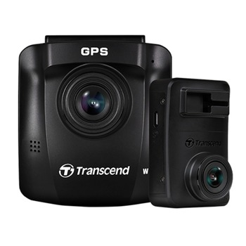 "Видеорегистратор Transcend DrivePro 620, камера за автомобил, FullHD, 2.4""(6.1cm) TFT LCD дисплей, 2x32GB вградена памет чрез MicroSD карти, Wi-Fi, USB 2.0, черен image"