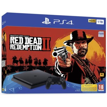 Sony PlayStation 4 Slim 1TB + Red Dead Redemption2 product
