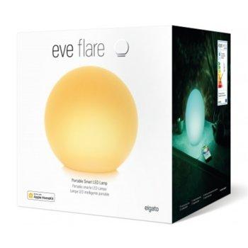 LED лампа Apple Elgato Eve Flare, RGB, до 6 часа работа, Bluetooth, IP65 защита image