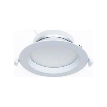 LED луна за вграждане, ORAX O120214WNW, 14W, AC 220V, Неутрално бяла image