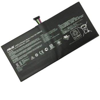 Батерия (оригинална) за лаптоп Asus, съвместима с модели VivoTab ABT-AS01 C21-TF810CD, 7.4V, 3243mAh image