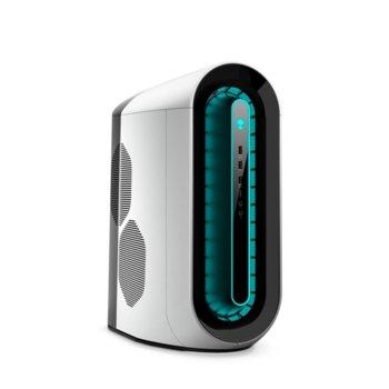 Настолен компютър Dell Alienware Aurora R11 (5397184440728), осемядрен Comet Lake Intel Core i7-10700KF 3.8/5.1 GHz, NVIDIA GeForce RTX2070 SUPER 8GB, 16GB DDR4, 512GB SSD & 1TB HDD, 5x USB 3.2, клавиатура и мишка, Windows 10 Home image
