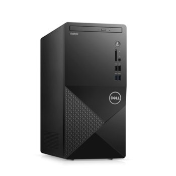Настолен компютър Dell Vostro 3888 MT (N601VD3888EMEA01_2101_UBU_M), четириядрен Comet Lake Intel Core i3-10100 3.6/4.3 GHz, 8GB DDR4, 1TB HDD, 4x USB 3.1, клавиатура и мишка, Linux image