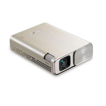 Преносим проектор Asus ZenBeam E1(златист), DLP, WVGA (854x480), 3500:1, 150 lm, HDMI, MHL, USB A, 6000 mAh батерия image