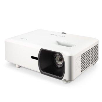 Проектор ViewSonic LS750WU, DLP, WUXGA (1920x1200), 3000000 :1, 5000 lm, HDMI, VGA, USB, LAN image