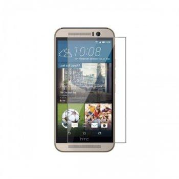 Протектор от закалено стъкло /Tempered Glass/ за HTC One M9, прозрачно image