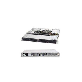 Сървър Supermicro AS-5019P-M-OTO-12, осемядрен Cascade Lake Intel Xeon Silver 4208 2.1/3.2 GHz, 16GB DDR4, 480GB SSD, 2x 1GbE, без ОС, 350W PSU image