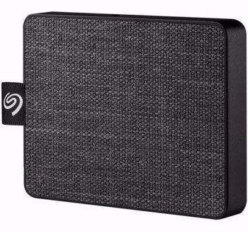 "Памет SSD 500GB, Seagate One Touch Black (STJE500400), USB 3.0, външно, преносимо, 2.5"" (6.35 cm) image"
