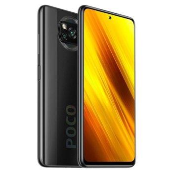"Смартфон Xiaomi Poco X3 NFC (сив), поддържа 2 sim карти, 6.67"" (16.94 cm) IPS 120Hz HDR10 дисплей, осемядрен Snapdragon 732G 2.3GHz, 6GB RAM, 128GB Flash памет (+ microSD слот), 64.0 + 13.0 + 2.0 + 2.0 & Mpix камера image"