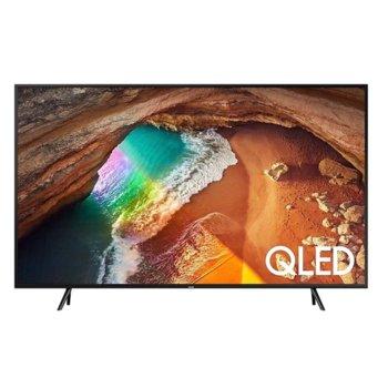 """Телевизор Samsung QE55Q60RATXXH, 55"""" (139,7 cm) 4K ULTRA HD Smart QLED, Freesync, HDR 10+, DVB-T2/C/S2 x 2, Wi-Fi, 4x HDMI, 2x USB, черен image"""