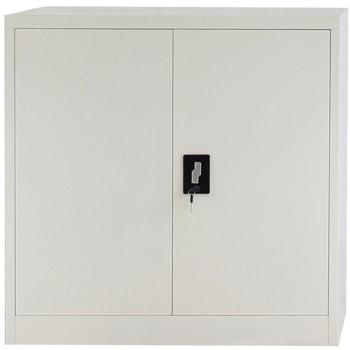 Метален шкаф RFG DZX-023, 1x рафт, прахово боядисан, метален, заключване, сив image