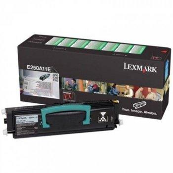 КАСЕТА ЗА LEXMARK E250/E350/E352 - Return program cartridge - P№ E250A11E - заб.: 3500k image