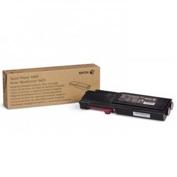 КАСЕТА ЗА XEROX Phaser 6600/WC 6605 - Magenta - P№ 106R02250 - заб.: 2000k image