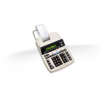 Калкулатор Canon MP120-MG, LCD дисплей, 12-цифрен, бял image