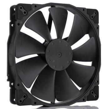 Вентилатор 200mm Noctua NF-A20 PWM chromax.black.swap, 4-pin, 800 rpm, черен image