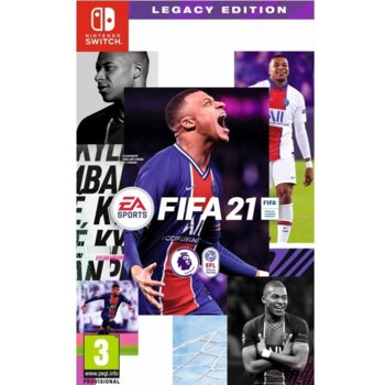 Игра за конзола FIFA 21 Legacy Edition, за Nintendo Switch image