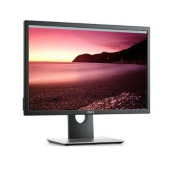 """Монитор Dell P2217, 22.0"""" (55.87cm) TN панел, WSXGA+, 5ms, 250 cd/m², Display Port, HDMI, VGA, USB  image"""