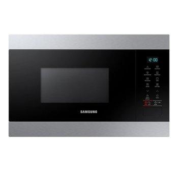 Микровълнова фурна Samsung MG22M8074AT/OL, за вграждане, с грил, електронно управление, 850 W, 22 л. обем, 6 степени на мощност, черна image