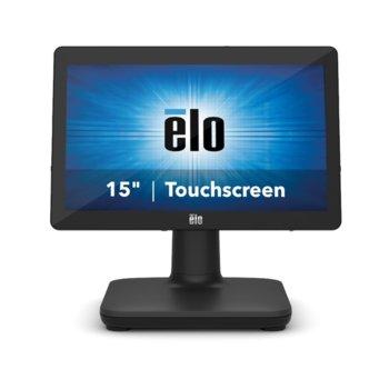 "All in One компютър Elo EPS15E2-2UWA-1-MT-4G-1S-NO-00-BK, четириядрен Intel Celeron J4105 1.5/2,5 GHz, 15.6"" (39.624 cm) HD LED Capacitive Multi Touch Display, 4GB DDR4, 128GB SSD, USB-C, Free DOS image"
