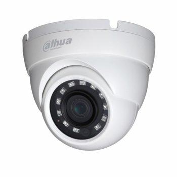 HDCVI камера Dahua HAC-HDW1200M-0280B-S4, куполна камера, 2MPix(1920×1080@30fps), 3.6mm, IR осветеност (до 30 m), външна IP67 image