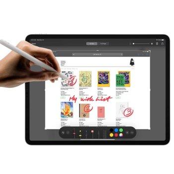 """Таблет Apple iPad Pro (2nd Generation)(MXDF2HC/A)(сребрист), 11"""" (27.94 cm) Liquid Retina дисплей, осемядрен Apple A12Z Bionic, 6GB RAM, 512GB Flash памет, 12.0 + 10.0 MPix & 7.0 MPix камера, iPad OS, 473g image"""