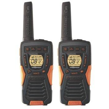 "Радиостанции Cobra AM 1035 FLT, PMR, 8 канала, до 12 km обхат, водоустойчивост клас JIS7, функция ""Бебефон"", черни image"