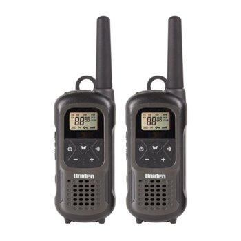 Радиостанции Uniden PMR1210-2, 8 канала, до 10 km обхат, черни image