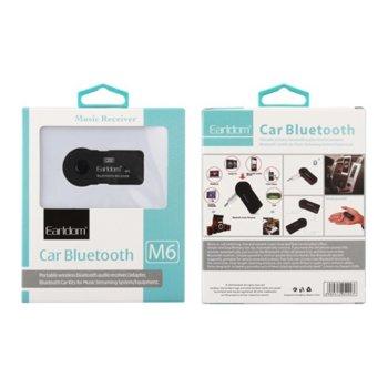 FM Трансмитер Earldom M6, Bluetooth, 3.5mm, черен image