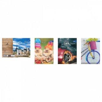 Тетрадка Spree Style 30586, формат А4, oфсетова хартия, 60 листа, телчета image