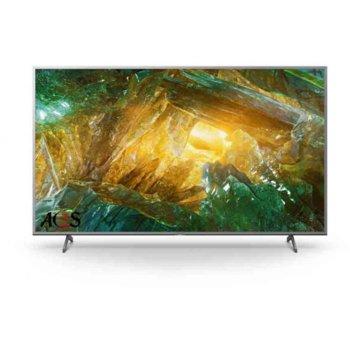 """Телевизор Sony KD-65XH8077, 65"""" (165.1 cm) LED, 4K Ultra HD Smart, DVB-C/T/T2/S/S2, Wi-Fi, LAN, 4x HDMI, 2x USB, енергиен клас G image"""