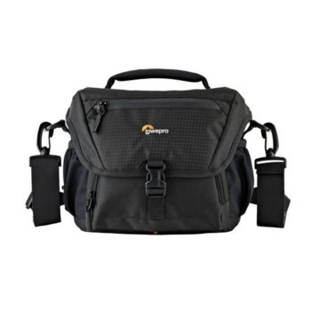 Чанта за фотоапарат Lowepro Nova 160 AW II, за DSLR, 17-85mm, 1-2 допълнителни обектива и светкавица, черен image