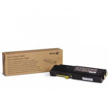 КАСЕТА ЗА XEROX Phaser 6600/WC 6605 - Yellow - P№ 106R02251 - заб.: 2000k image