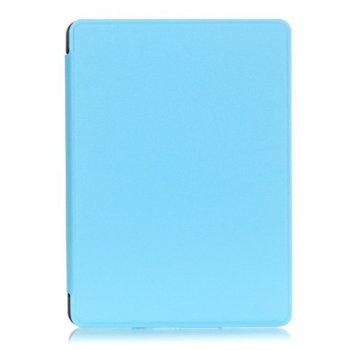 Калъф за електронна книга Kindle 2016 + подарък протектор за екран и stylus pen , светло син image