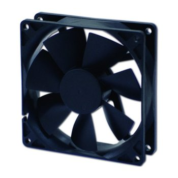 Вентилатор 140мм, EverCool EC14025H12BA, 2Ball, 3 Pin Molex, 1800rpm image
