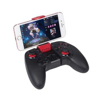 Геймпад Marvo GT-62, за PC/Android/iOS, безжичен/жичен, стойка за телефон, USB, черен image