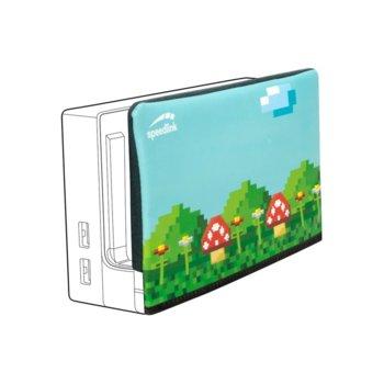 Калъф за Nintendo Switch Station, шарен image