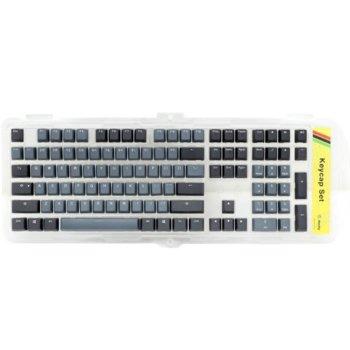 Капачки за механична клавиатура Ducky Skyline 2 tone, 108-Keycap, US Layout image