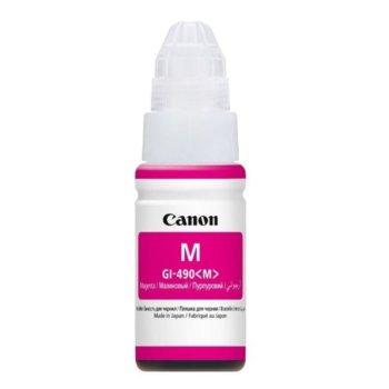 Тонер бутилка за Canon PIXMA G1400/G2400/G3400, Magenta, Canon GI-490 0665C001AA, заб: 80 g image