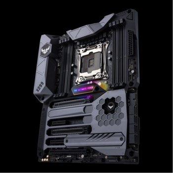 Дънна платка Asus TUF X299 MARK 1, X299, LGA2066, DDR4, PCI-E(SLI&CFX), 8 x SATA 6Gb/s, 1 x M.2 slot, 2 x USB 3.1 Gen 2, ATX image